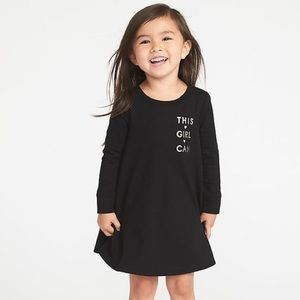 Old Navy   French-Terry Circle Dress This Girl Can